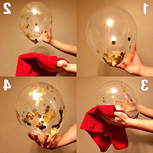DRRE Number Balloon Gold inch for Birthday Graduation Wedding Party
