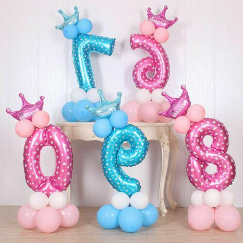 Number Foil Giant Party Decor Baby US