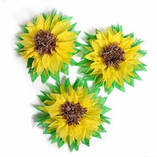 Sunflower Party Decoration Summer Birthday baby Bridal Showe