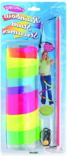 Rainbow Stunt Streamer, Party Supplies Toys Games Banners Co