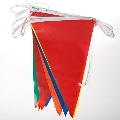 Pennant Birthday Party Decorations Weather Resistant )