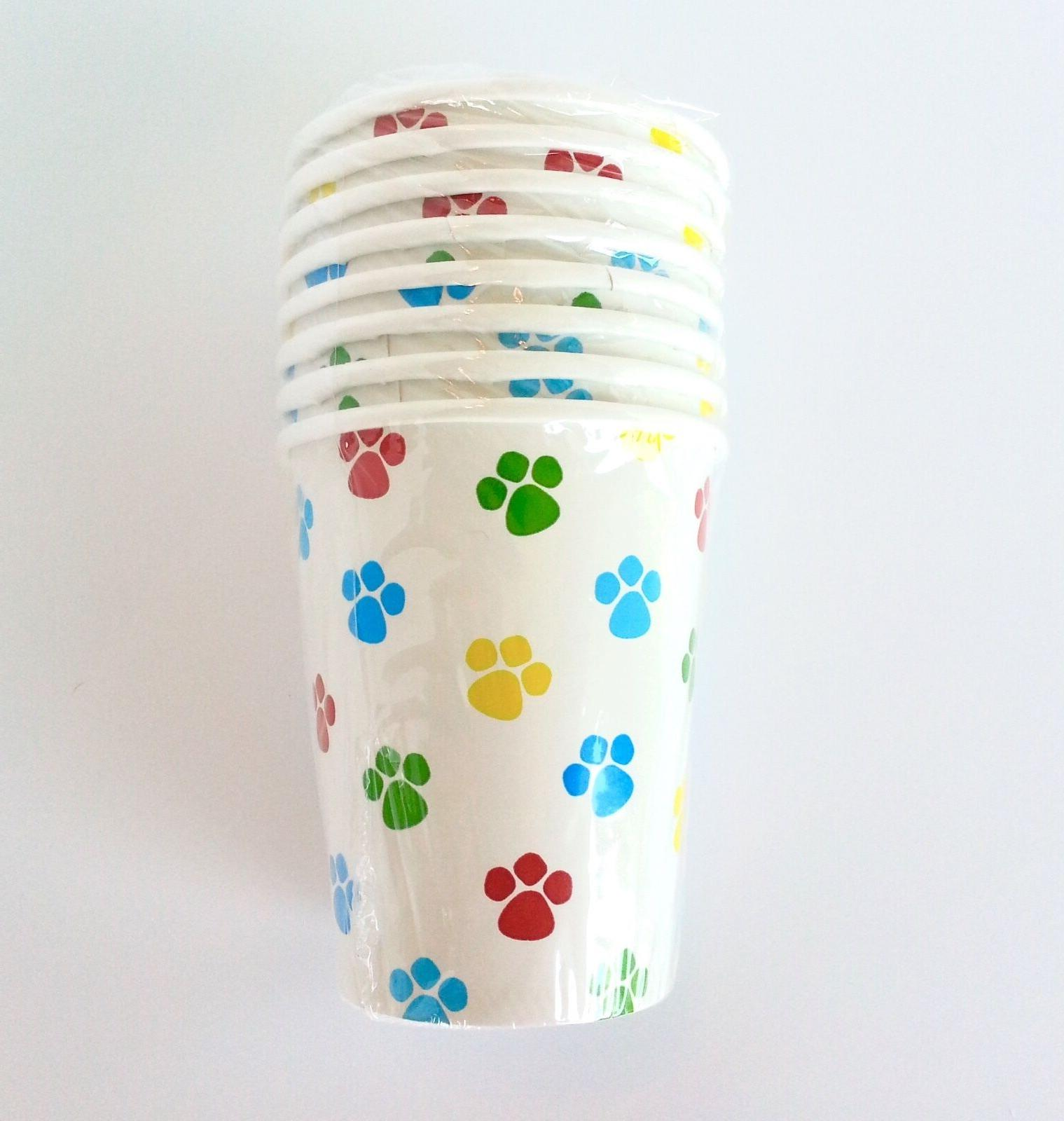 Pet Party Dog Paw Print Birthday U Choose