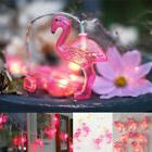 Pink Flamingo Fairy LED String Lights Party Patio Porch Wedd