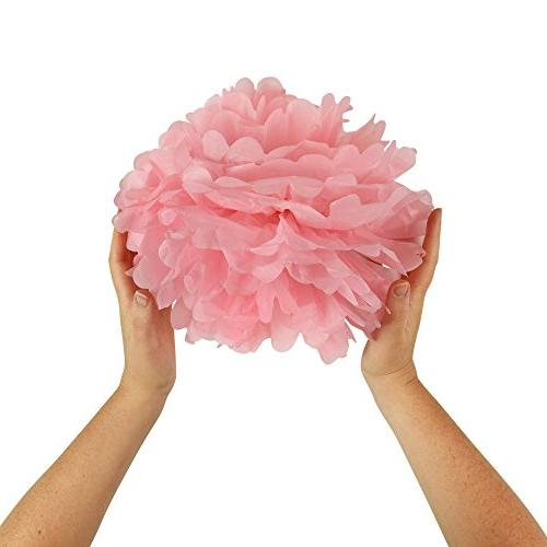 Pink and Decorations, Party Supplies, Poms, Lanterns, Garlands, Party - Party - Ballerina Bachelorette Party