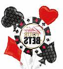 PLACE YOUR BETS - Casino Balloon Bouquet 5pc Birthday Decora