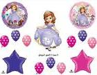 PRINCESS SOFIA THE FIRST HAPPY BIRTHDAY PARTY BALLOONS Decor