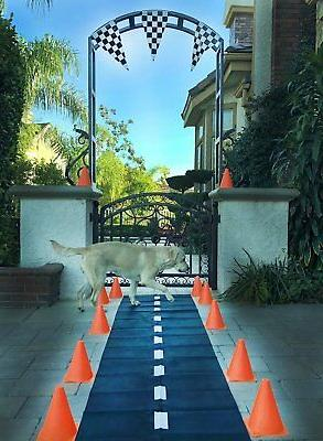 Racetrack Floor Runner Party Decoration Race Car Theme NASCA