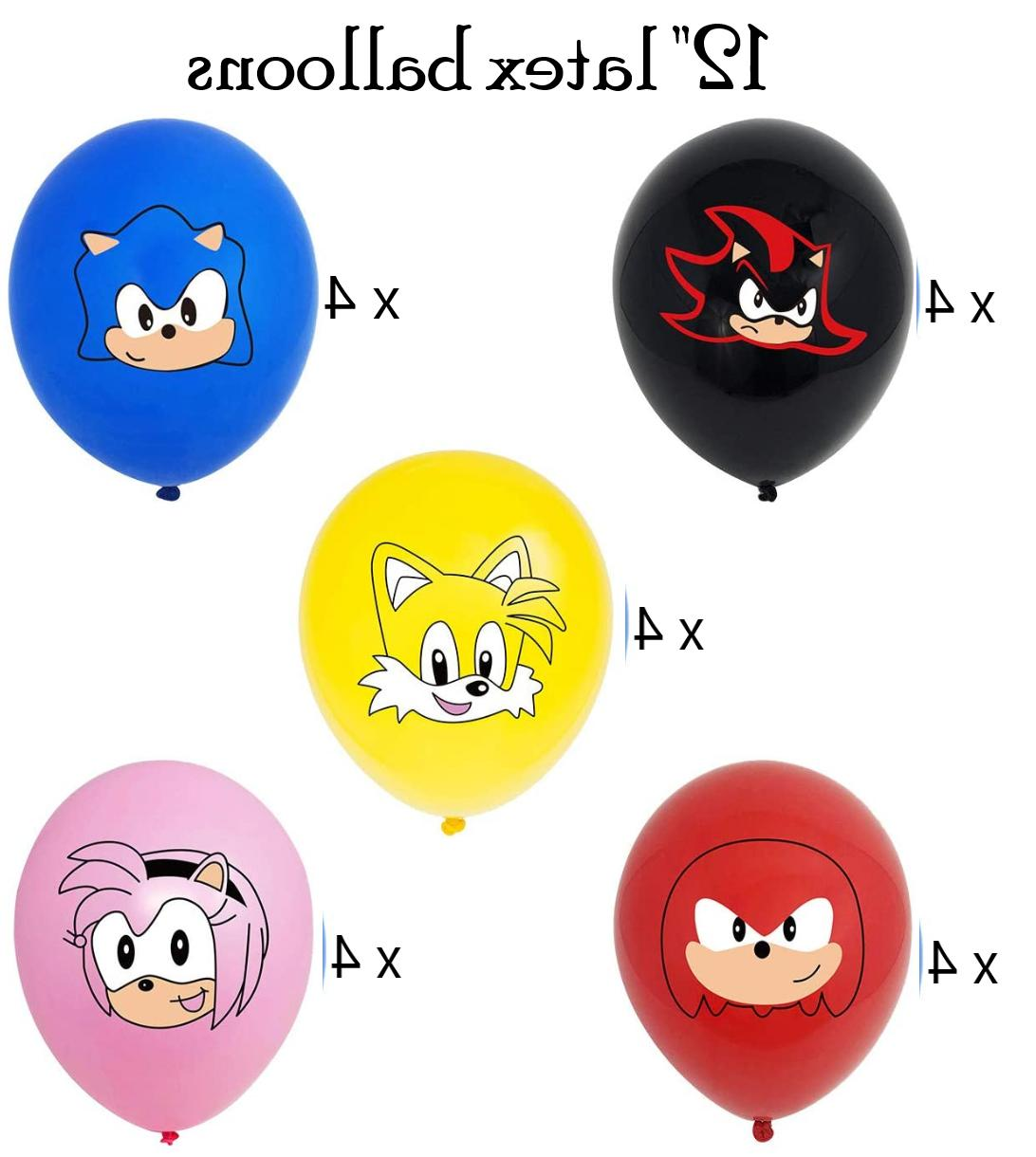 Sonic Party Decorations USA