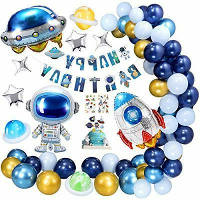 space theme birthday party decorations for boys