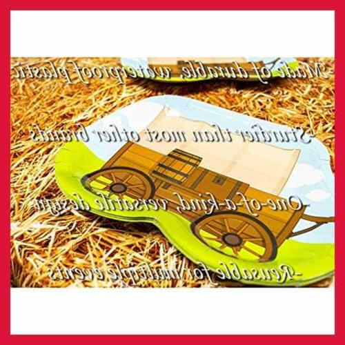 Straw Tablecovers 2 Western Birthdays Cowboy Supplies Horse Decorations