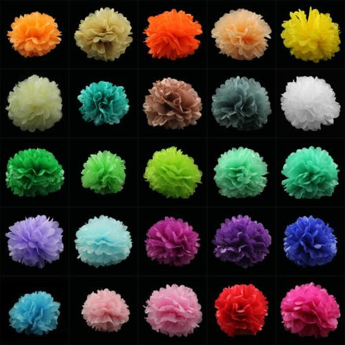 Tissue Paper Pom Poms Flower Balls Wedding Party Birthday De