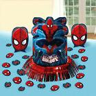 Ultimate SpiderMan Theme Party Table Decoration Kit Centerpi