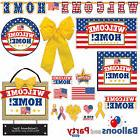 Welcome Home USA Patriotic Party Tableware Decorations Suppl