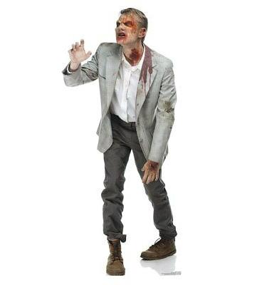 Zombie Snatcher Lifesize Cardboard Cutout Party Decoration D