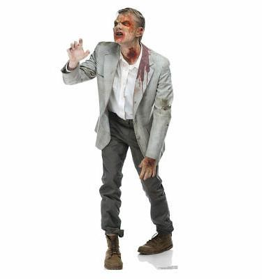 zombie snatcher lifesize cardboard cutout party decoration