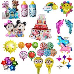 Large Foil Helium Balloons Kids Birthday Wedding Party Decor