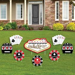 Big Dot of Happiness Las Vegas - Yard Sign & Outdoor Lawn De