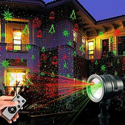 Laser Decorative Lights Garden Laser Light Projector + Remot