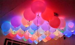 LED Balloons 48 Pack Light Up PERFECT PARTY Decoration Weddi