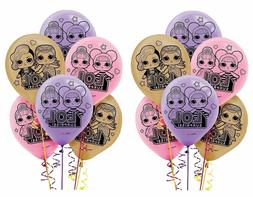 """LOL Surprise! Latex Balloons Party Supplies Decorations 12"""""""