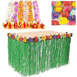 Adorox Luau Tropical Hawaiian Party Decoration Set Including