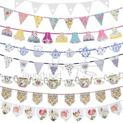 Luxury Bunting Banners - Garlands / Hanging Decorations - Te