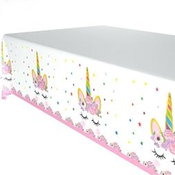 Magical Unicorn Kid Baby Shower Birthday Party Tablecloth De