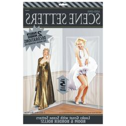 Marilyn Monroe Hollywood Party Wall Decoration Scene Setters
