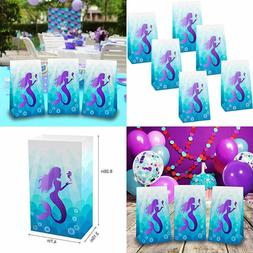 Mermaid Party Bags Gifts Supplies & Birthday Party Decorat