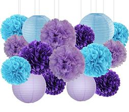 Mermaid Party Decorations Wedding Party Decorations Purple L