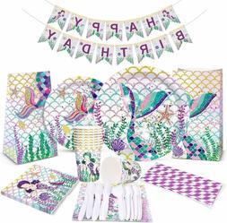 mermaid party supplies favor kit mermaid birthday