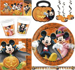 Disney Mickey Mouse Minnie Mouse Orange Halloween Party Supp
