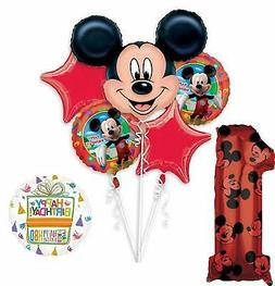 Mickey Mouse and Friends 1st Birthday Party Supplies and Balloon Decorations Mayflower