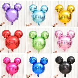Mickey Mouse Silhouette Balloons Birthday Baby Shower Party