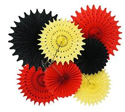 Mickey Mouse Party Supplies 1st Birthday 7pcs Yellow Red Bla