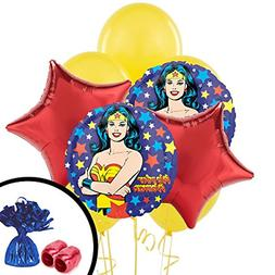 Mighty Super Hero Girl Power Wonder Woman Birthday Party Bal