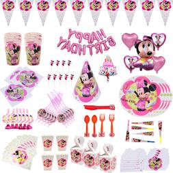 Minnie Mouse ballons Birthday <font><b>party</b></font> <fon