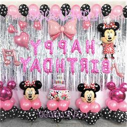 Minnie Mouse Birthday Party Decorations  Minnie Mouse Balloo