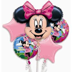 Anagram International Minnie Mouse Bouquet, Multicolor