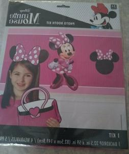 Minnie Mouse American Greetings Disney Photo Booth Kit Party