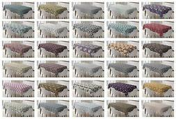 Multicolor Fabric Tablecloth Ambesonne 3 Sizes Rectangular T
