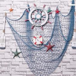 Nautical Decor Fishing Net Shell Fishnet Photo Prop Beach Sc