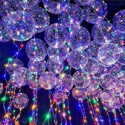 New~LED Light UP Balloons Party Balloon Graduation Birthday