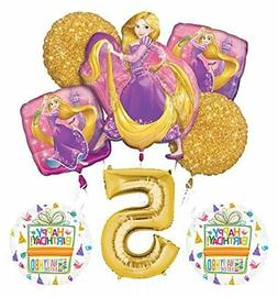 NEW! Tangled Rapunzel Disney Princess 5th BIRTHDAY PARTY Bal