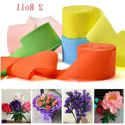 Packing Gifts DIY Craft Crepe Paper Wrapping Supplies Crinkl