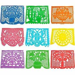 Papel Picado Plastic Banner  Mexican Party Supplies, Coco Pa