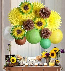 Sunflower Party Decoration kit Summer Birthday Wedding Brida