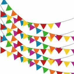 pennant banner birthday party decorations