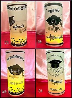 Personalized Graduation Luminaries Table Centerpieces Decora