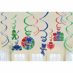 PJ Masks Honeycomb Balls Hanging Decorations Birthday Party